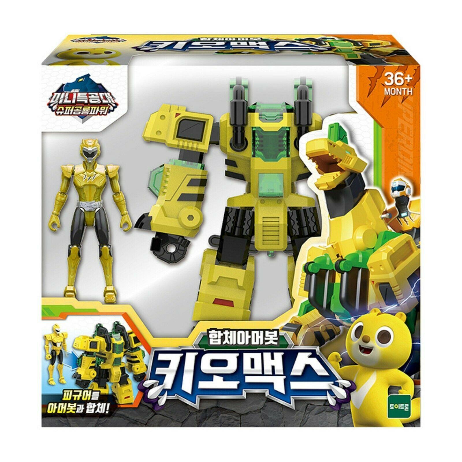 Miniforce Chio Max Transformation Action Figure Super Dinosaur Power Part 2 Toy