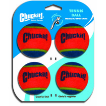 Canine Hardware Orange/blue Chuckit! Tennis Balls Dog Toys Med/4 Pack 66... - ₹1,285.66 INR