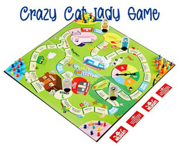 Accoutrements - The Crazy Cat Lady Game Sealed Brand New 4-Players Ages ... - $22.47