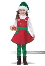 California Costumes Elf In Charge Christmas Xmas Toddler Halloween Costu... - $52.60