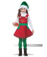 California Costumes Elf In Charge Christmas Xmas Toddler Halloween Costu... - $48.32