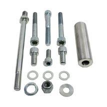 Chevy BBC Aluminum Alternator Bracket Kit Long Water Pump 396 402 427 454 502 image 6