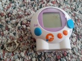 Giga Pets Hamster Keychain Virtual Pet Tiger Games 2006 Hasbro Handheld Toy - $8.50