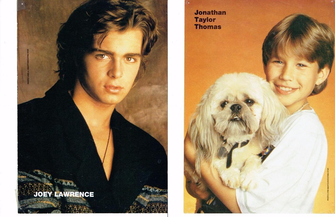 Joey Lawrence Jonathan Taylor Thomas teen magazine pinup clippings Tiger Beat