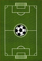 All Stars Soccer Ground Kids Rug, 39 L X 60 W - $54.66