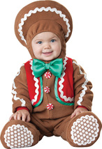 Gingerbread Baby Christmas / Halloween Costume 6 to 12 Months  - Free Shipping - $50.00