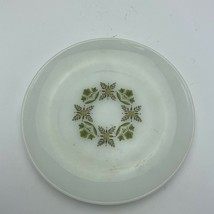 "Vintage Anchor Hocking Fire King Meadow Green 7 1/2"" Salad Dessert Plate - $9.89"
