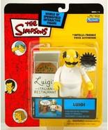 Simpsons Playmates Series 14 Carded Luigi - $14.04
