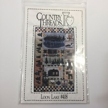 """Loon Lake Quilt Pattern 25"""" x 40"""" Country Threads  - $11.64"""