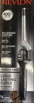 "Revlon Long Lasting Curls 3X Ceramic Curling Iron New 1/2"" barrel - $32.71"