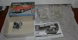 AMT ERTL 1960 Corvette Model Kit #31541 Scale 1:25 Open Box - $28.04