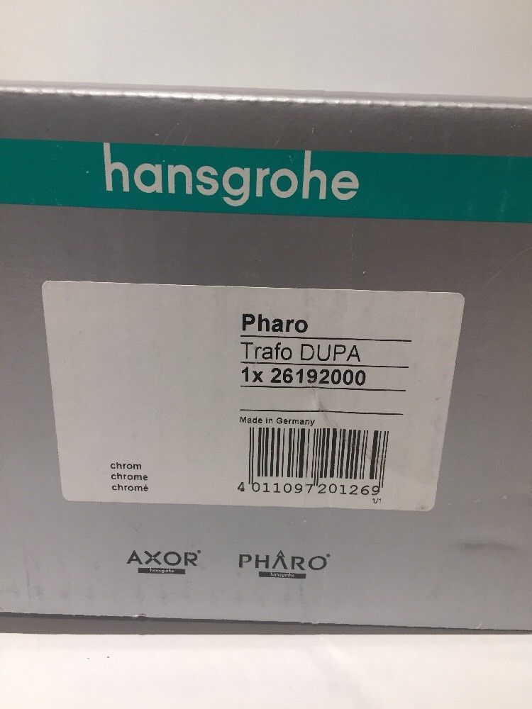 HANSGROHE - 26192000 - Pharo Transformer For and 50 similar items