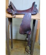 Model 1904 WWI 1918 US Military McClellan Saddle US Army Good Condition - $450.00