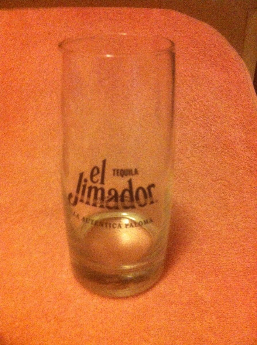 Primary image for EL JIMADOR TEQUILA  LARGE GLASS  TOM COLLINS  MEXICO  -- FREE SHIP---VGC