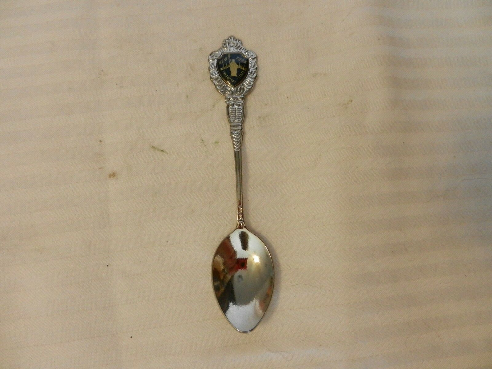Primary image for New York The Empire State Collectible Silverplate Spoon With Statue of Liberty