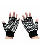 Gloves Sports Semi Finger Gloves Yoga Sports Gloves AntiSlip Semi Finger... - $4.93