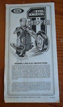 Ideal Toys 1976 Evel Knievel Chopper Assembly & Play Instructions - £25.19 GBP