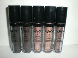 NYX Roll on Shimmer Makeup for Eyes Face Body Choose Your Color Nude Bla... - $10.88+