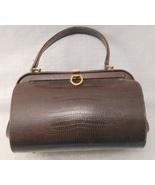 VINTAGE MEYERS Barrel Snakeskin Leather HANDBAG Bag Purse - $75.00