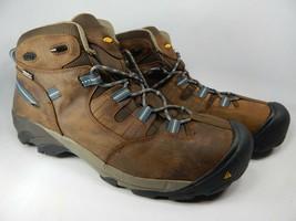 Keen Detroit Mid Size 15 M (D) EU 48 Men's Steel Toe Work Boots Brown 1007004