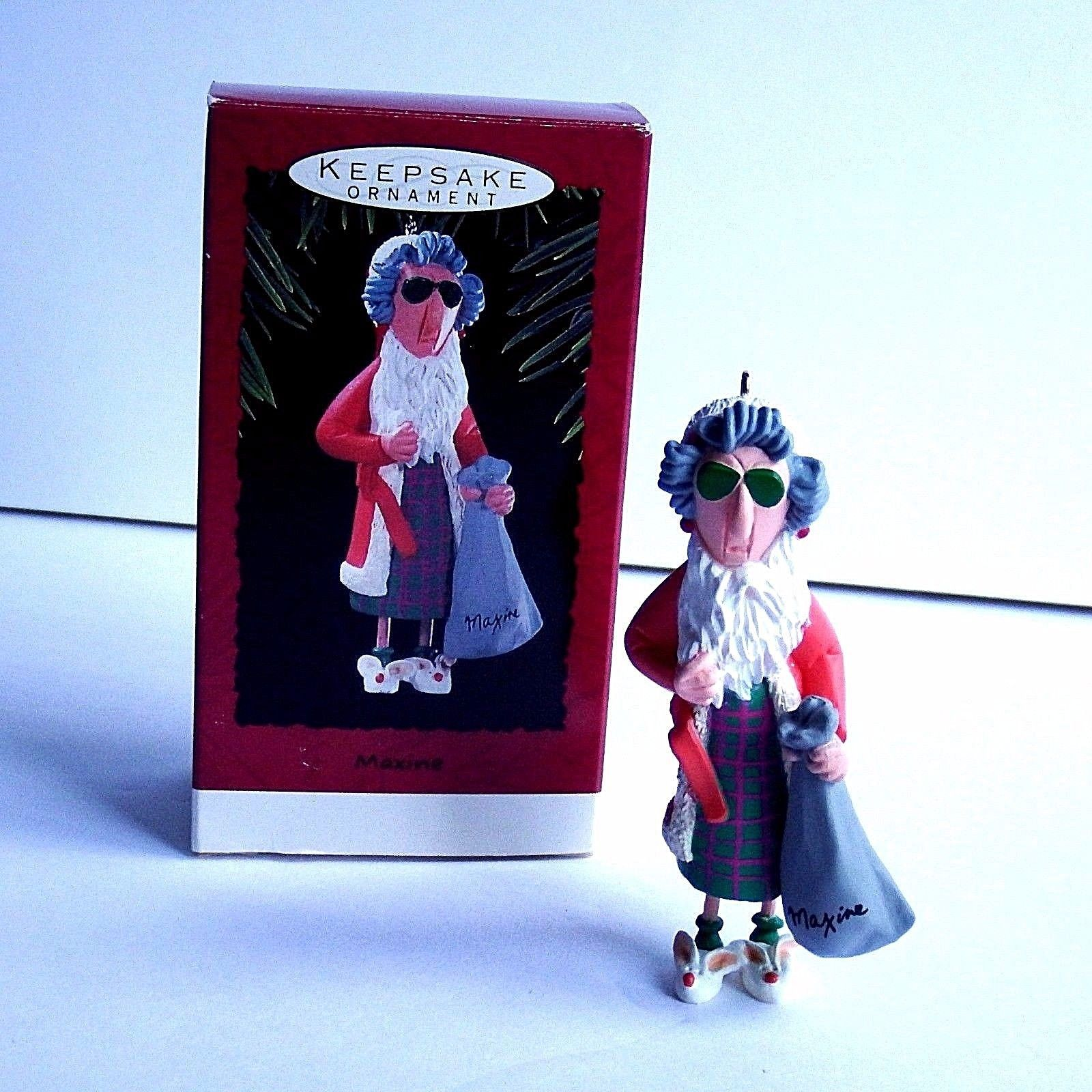Primary image for Hallmark Keepsake Maxine Ornament 1993