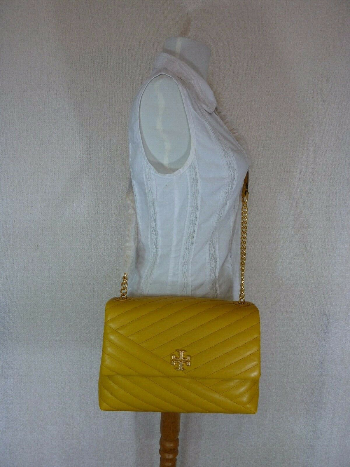 NWT Tory Burch Daylily Kira Chevron Flap Shoulder Bag image 10