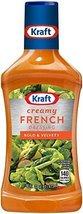 Kraft, Creamy French Dressing, 16oz Bottle (Pack of 3) - $32.55