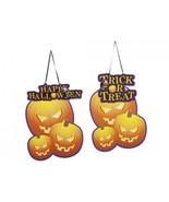 Halloween Pumpkin Theme Door Hanger - $9.79
