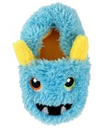 Wonder Nation Infants Boys Monster Slippers House Shoes Size 3 Blue Yell... - £9.11 GBP