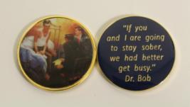 3 men on a bed AA Medallion  - $19.99