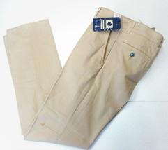 Men trouser 30 in.Thirtyfive ITALY straight cotton beige mid season  RRP... - $38.48