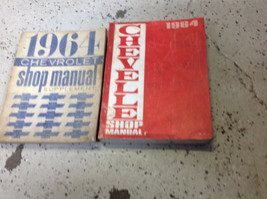 1964 gm chevrolet chevelle workshop service repair manual oem set with - $34.59