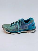 Asics Gel-Nimbus 18 Women's Shoes Turquoise/Iris/Methyl Blue t650n Size 9.5 - $38.69