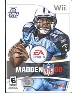 Madden NFL 08 (Nintendo Wii, 2007) - $12.99