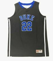 Nike Duke Blue Devils Team ID II Game Basketball Jersey #22 Black Women's Medium - $42.56
