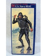 GLENCOE MODELS U.S. NAVY SEAL SCUBA DIVER FIGURE MODEL KIT NEW!! FROGMAN... - $29.69