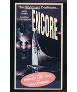 Encore (AKA The Comeback) VINTAGE VHS Cassette Jack Jones Pamela Stephenson - $29.69