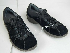 Clarks Collection Women's Black Leather Sneakers US Size 6 M - $44.00