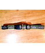 "Rogz Low load tech Dog Collar, Size S 3/4"" x 12""- 16"" green dog bones - $7.91"