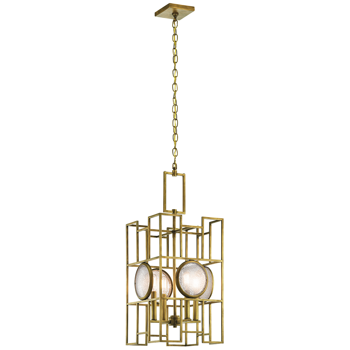 Primary image for Kichler 43933NBR Vance Pendants 13in Brass Tones STEEL 4-light