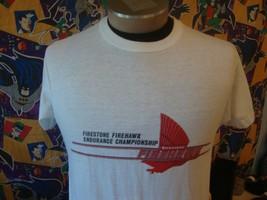 Vintage 80s Firestone Firehawk Tires T Shirt M  - $24.74