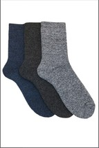 Pack of 3: OCTAVE® Mens Cotton Rich Boot Socks - 3 Colors - Great For Ou... - $173,75 MXN