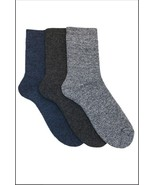 Pack of 3: OCTAVE® Mens Cotton Rich Boot Socks - 3 Colors - Great For Ou... - $9.27