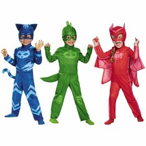 Disguise PJ Masks Catboy Gekko Owlette Classic Kids Toddler Halloween Co... - $23.91+