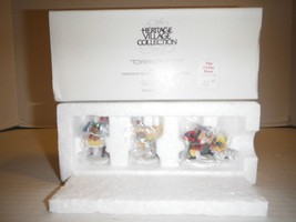 Department 56 Heritage Village Collection 5602-2 Toymaker Elves New in Box - $21.46