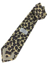 "New ROBERT TALBOTT Studio Silk Neck Tie Yellow Designer 56"" - $13.95"