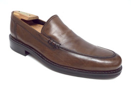 COLE HAAN Brown Size 9 1/2 Slip On Loafers N. Air 9.5 Shoes - $61.20