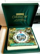 Longaberger Collectors Club Hometown Christmas Ornament 1997 - $9.70
