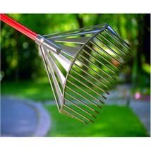 Premium Rake Home Garden Patio Tool Sturdy Handle Ergonomic Design High ... - $67.89