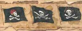 Arrr Its Pirate Wallpaper Border York Wallcovering BT2811 - $16.99